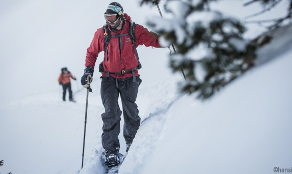 Splitboard guiding