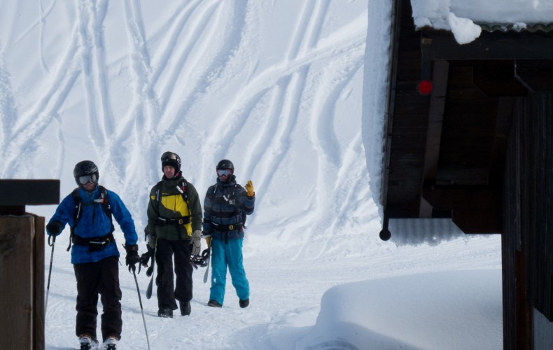 Snow safety in het Grand Massif